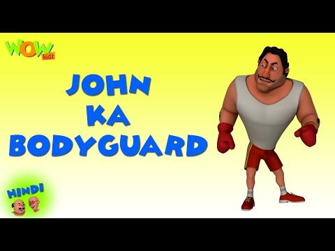 John Ka Bodyguard - Motu Patlu in Hindi - 3D Animation Cartoon for Kids -As on Nickelodeon thumbnail