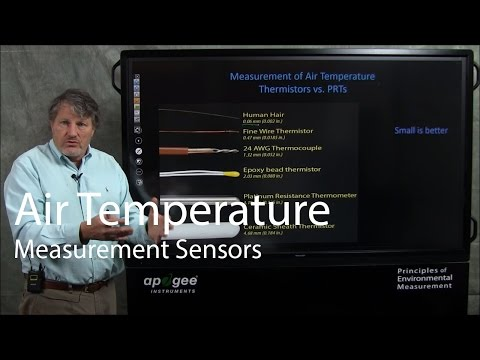 Air Temperature Measurement Sensors