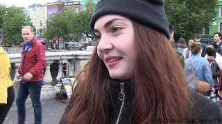 Irish Fears: Immigrants & immigration in Ireland 2018. Interviews on streets of Dublin.