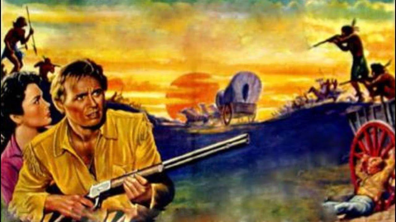 "Download Richard Widmark  em ""A ÚLTIMA CARROÇA (1956)"""