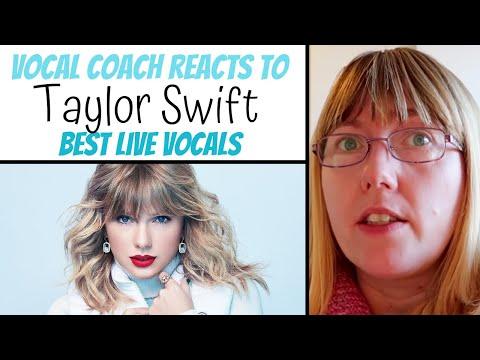 Vocal Coach Reacts Taylor Swift Best  Vocals