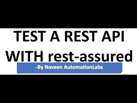 Download API Automation using Rest Assured - BDD Framework