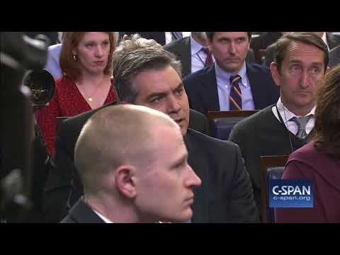 Exchange between White House Press Secretary Sarah Sanders & CNN's Jim Acosta (C-SPAN)
