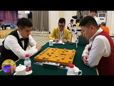 Ưu thế toàn cục Hồng Trí vs Vương Thiên Nhất, vòng 3 Bích quế viên bôi 2018
