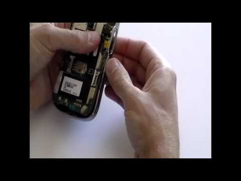 Blackberry Bold 9000 LCD Screen Replacement Repair Take Apart Guide