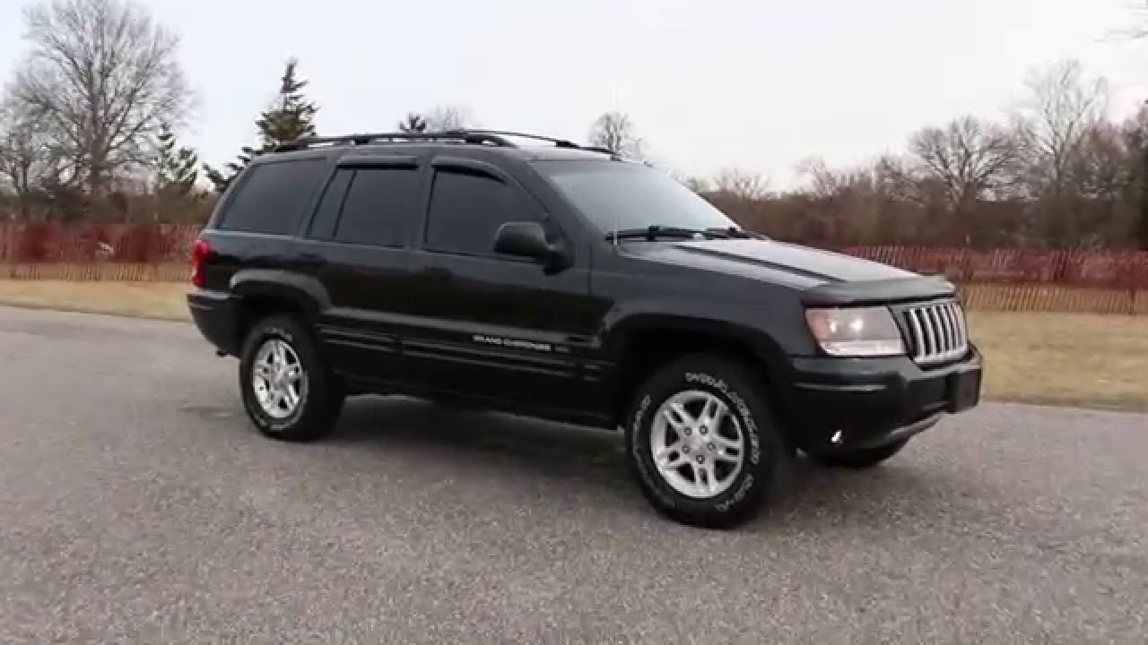 2004 jeep grand cherokee special edition for sale leather moon roof alloys fantastic youtube. Black Bedroom Furniture Sets. Home Design Ideas