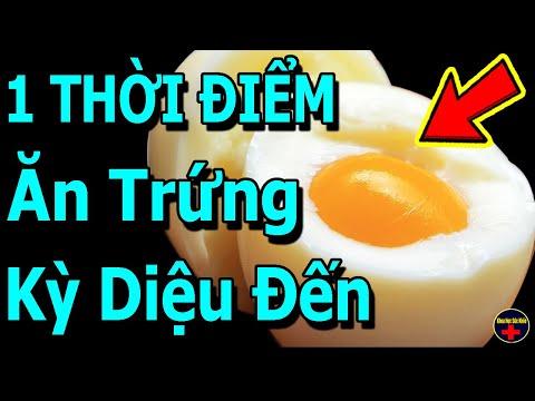 Ăn 1 Quả Trứng Vào Lúc Này 8 Điều Kỳ Diệu Xảy Ra, Càng Già Càng Khỏe