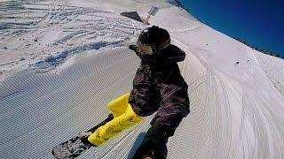 GOPRO POV SNOWBOARDING