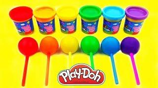 Impariamo I Colori con Pongo! Giocattoli per bambini!