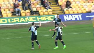 Highlights: Mansfield 0-2 Wycombe