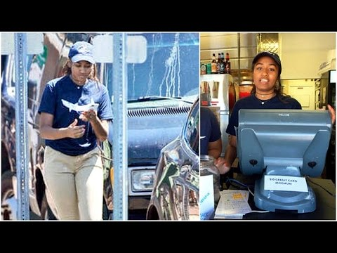 US President's daughter Sasha Obama has a summer job!