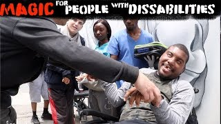Magic for People with dissabilities l Julien Magic