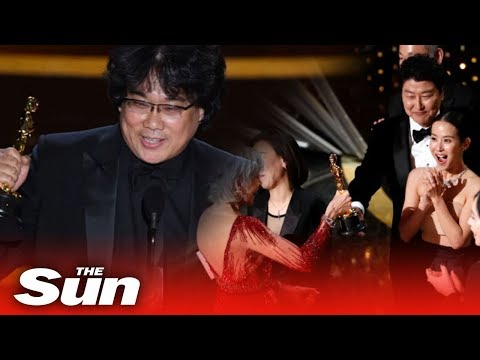 Oscars 2020: Moment Parasite Wins Best Picture At Academy Awards