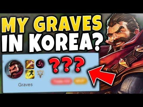 THE RANK 1 GRAVES IN KOREA? - League of Legends thumbnail
