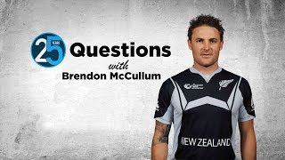 25 Questions with Brendon McCullum - \'The 158 in the first IPL changed my life\'
