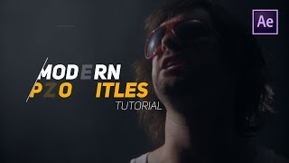 Learn To Create Title Animation | After Effects Tutorial