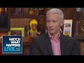 Anderson Cooper Asks Andy Cohen Who His First Crush Was Host Talkative WWHL mp3