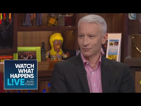 Anderson Cooper Asks Andy Cohen Who His First Crush Was | Host Talkative | WWHL