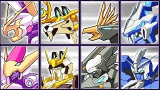 Triple-Forms Robot Bundle #2: Baby Hawk, Rolling Dojo, Shlitterfly & Slash Lion | Eftsei Gaming