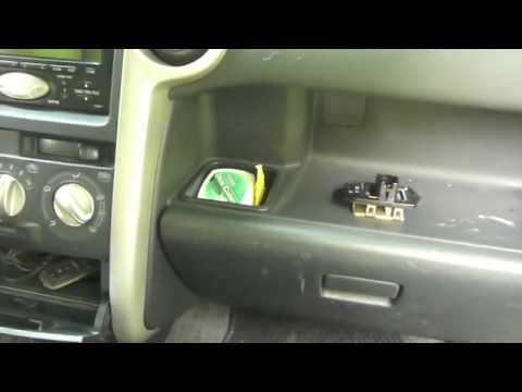 Scion Xb Blower Motor Resistor location - YouTube