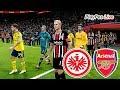 PES 2020 - EINTRACHT FRANKFURT Vs ARSENAL - Europa League - Full Match & Goals - Gameplay PC