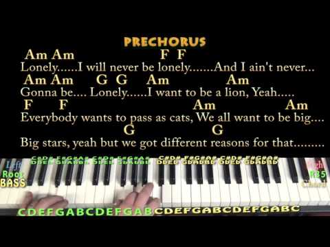 Mr. Jones (Counting Crows) Jamtrack in C with Chords/Lyrics - YouTube