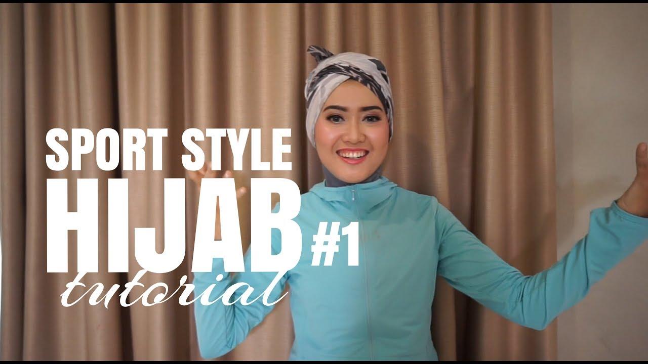 Hijab Tutorial 1 Sport Style Youtube