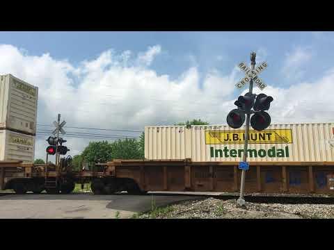 CSX Intermodal crosses Wilson Street