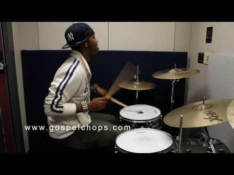 """""""The Berklee Files"""" @ GospelChops.com featuring Darion Ja'Von - Drum Lesson"""