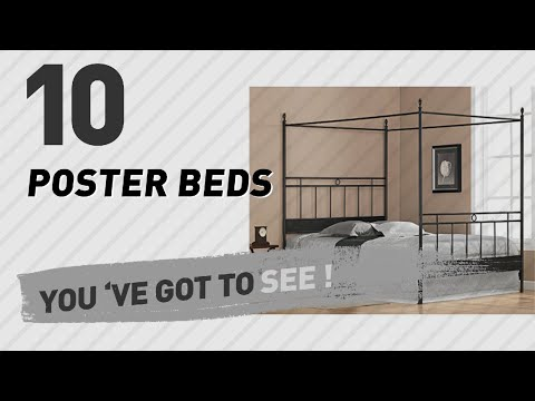 Poster Beds, Top 10 Collection // The Most Popular 2017