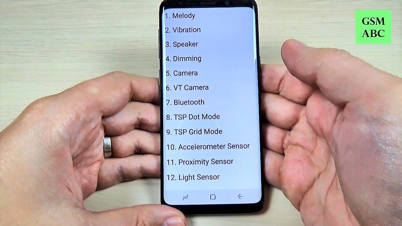 SECRET CODES Samsung Galaxy S9, S10 and NOTE 9