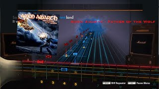 Amon Amarth - Father of the Wolf - Rocksmith 2014 CDLC (lead)