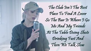 SHAPE OF YOU - Ed Sheeran || Madilyn Bailey Cover [ LYRICS ]