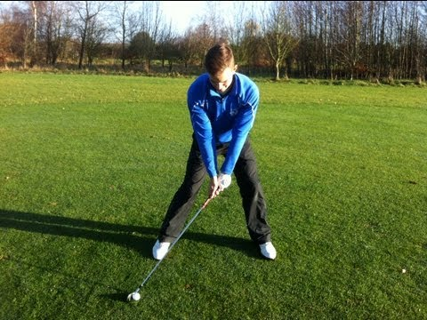 Golf Swing – Ball Position Iron Shots