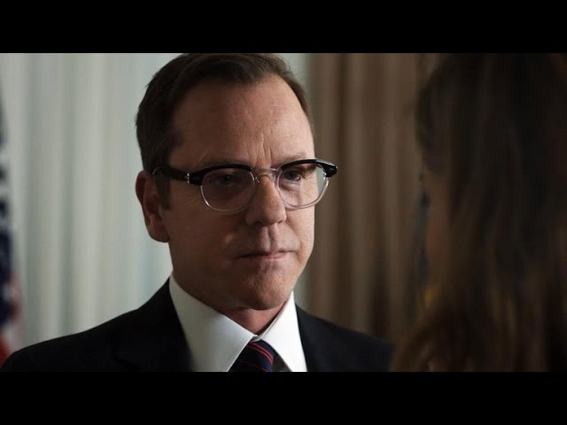 EXCLUSIVE: Watch Kiefer Sutherland's Dramatic Presidential Debut on ABC's 'Designated Survivor'