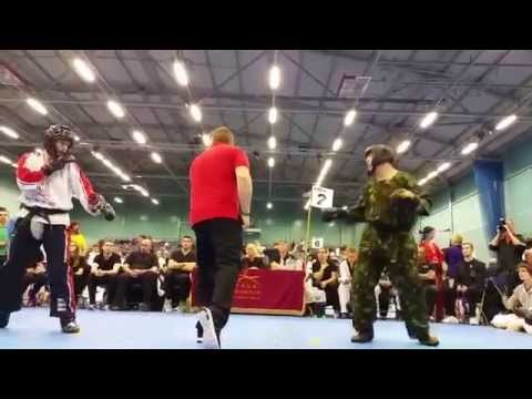 Chris Benstead vs John cregg taekwondo English championships 2015