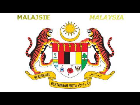 Coats of arms of Asia - Státní znaky Asijských zemí