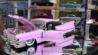 Revisión 1:24 / Cadillac El Dorado 1959, de Jada Toys.