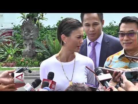 Temui Jokowi, Agnez Mo bicara mimpi anak muda Mp3