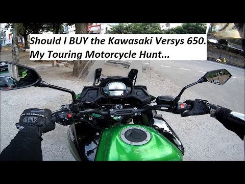 Test Ride Of Kawasaki Versys 650 My Touring Motorcycle Hunt
