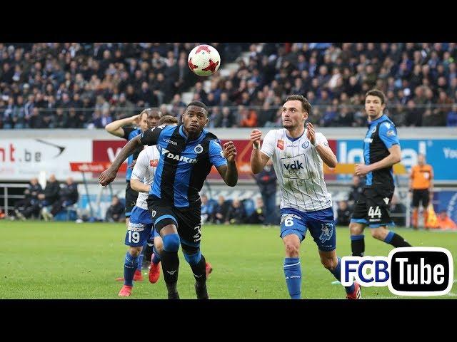 2017-2018 - Jupiler Pro League - 24. AA Gent - Club Brugge 2-0
