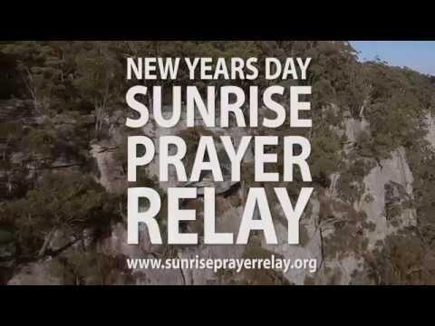 New Years Day Sunrise Prayer Relay - YouTube