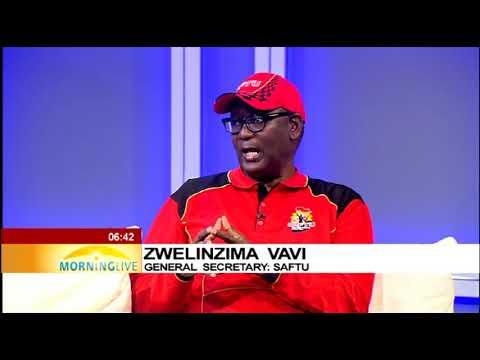 Vavi on SAFTU's plea for a moratorium on govt employees' pension funds