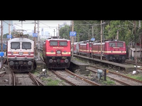 Impressive Train Departure From Mumbai Central Railway Station & Further !!!