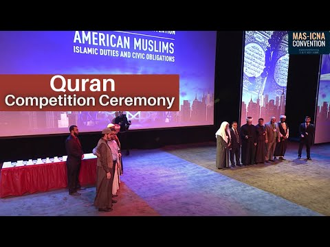 Quran Competition Ceremony   15th MAS ICNA Convention