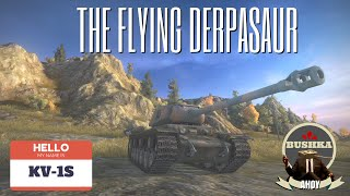 KV1S   THE FLYING DERPASAUR World of Tanks Blitz