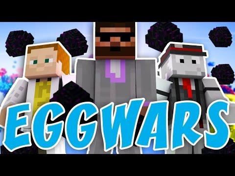 Pedro, GEJMR a Kelo | EGGWARS - Mega rage! | Minecraft minihry