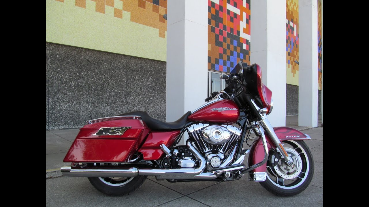 used 2012 harley davidson street glide flhx motorcycle for sale youtube. Black Bedroom Furniture Sets. Home Design Ideas