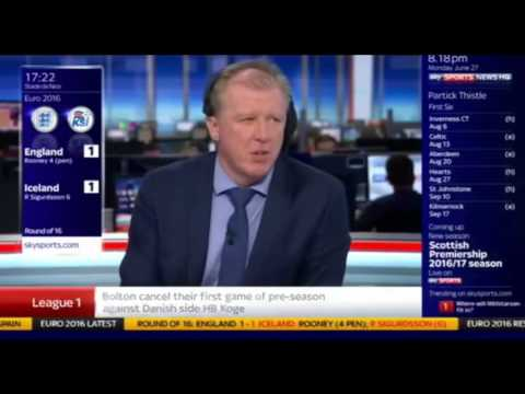 Steve McClaren Iceland Commentary - To Be Continued