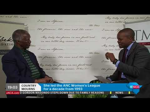 Former president Thabo Mbeki reflects on Winnie Madikizela-Mandela's legacy - PART 2